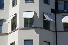 Fönstermarkis - Sofiero med kassett över 400cm