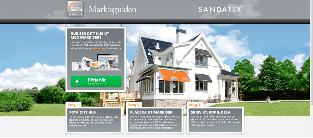 Markisguiden - Montera virtuella markis på din fastighet