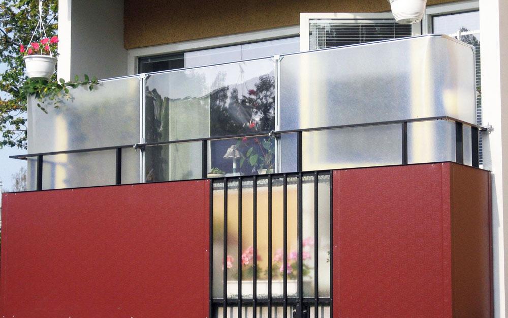 Balkongskydd - Glasfiber
