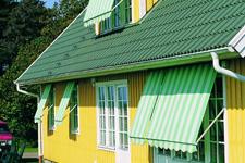 Fönstermarkis Solliden