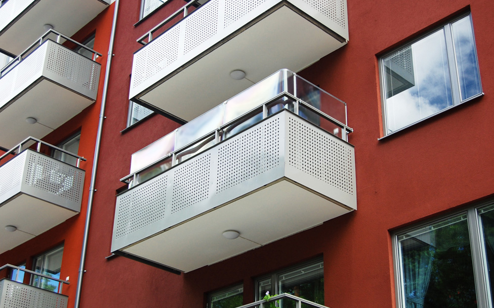 Balkongskydd - Glasklart