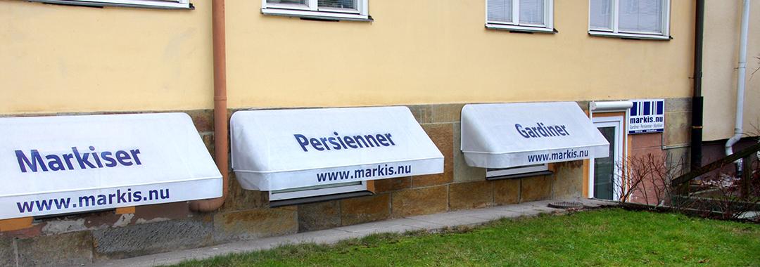 Markiser, gardiner & Persinner - Kontakta markis.nu